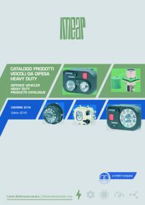 1085810-18 Catalogo prodotti veicoli da difesa - Heavy Duty_LQ.p